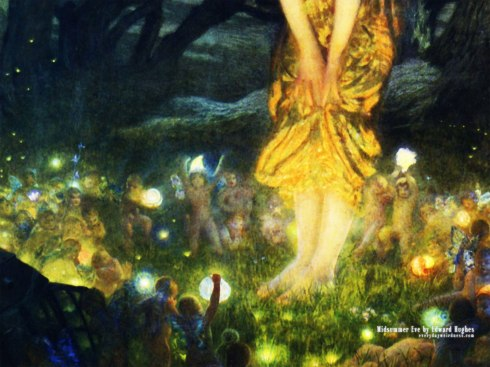 Midsummer Eve by Edward Hughes
